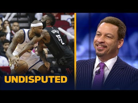 Chris Broussard reacts to the Warriors' 106-104 win vs the Rockets without KD | NBA | UNDISPUTED