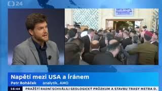 Napětí mezi USA a Íránem. Jaké riziko přináší?