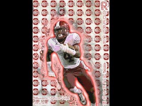 Roderick Jackson Jr:(Ouachita Parish High School)(2013-2014 Football Highlights)