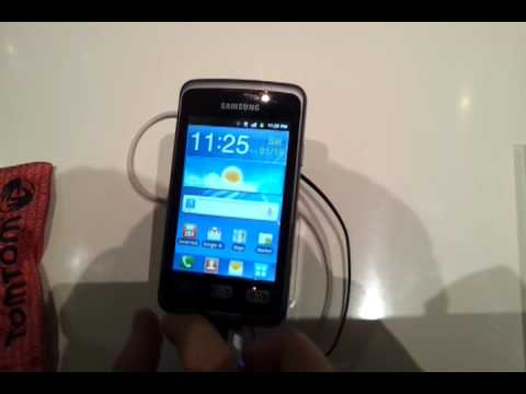 Youtube Video Samsung Galaxy Xcover S5690 in titan grey