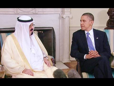 President Obama & King Adbullah Meet at the White House