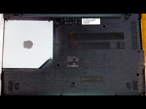 Instalare unitate optica la laptop care vine fara