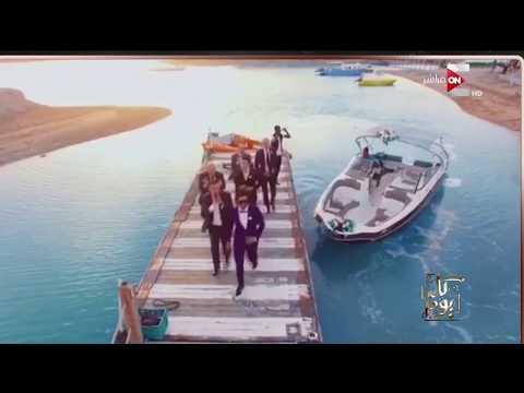 عمرو أديب يعرض مشاهد من فرح إيمي سمير غانم وحسن الرداد