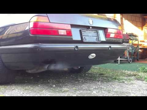 BMW 730i e32 V8 Original - Stock Soundcheck!!