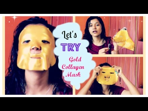 LETS TRY || GOLD COLLAGEN MASK