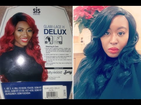 Zury Hollywood Glam-Lace-H-Delux...Turn that Synthetic Wig into Bundles, Sis!!