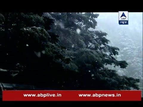 Snowfall a common sight in mountainous regions this year (видео)