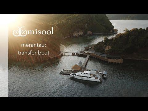 Merantau: Misool's private transfer boat