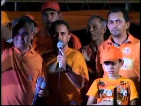 Comício de Encerramento da Campanha de Luiz Galvão 40 - realizado em 02/10/2012 - Parte 1