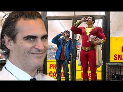 First Official Image Of Shazam & Joaquin Phoenix Is Officially A Go !!