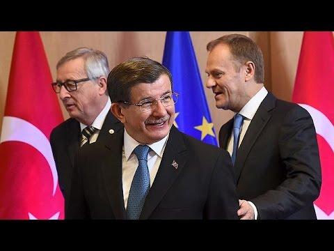 Η συνεργασία με την Τουρκία στο επίκεντρο της Συνόδου Κορυφής