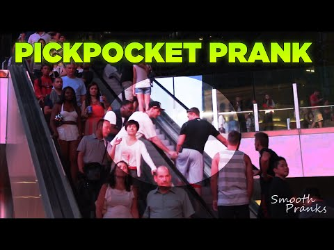 "Pranks: PICKPOCKET PRANK! PRANKS – ""Funny Pranks"" – Public Pranks – Best ""Pranks"" 2014 – ""Prank"""