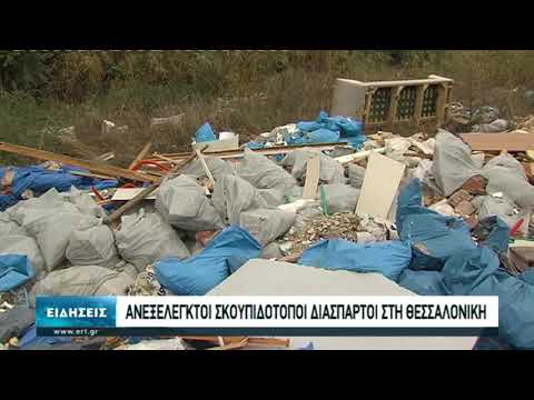 Ανεξέλεγτοι σκουπιδότοποι διάσπαρτοι στη Θεσσαλονίκη | 16/10/20 | ΕΡΤ