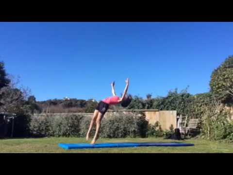 Under 15 second tumbling | NZ gymnasts