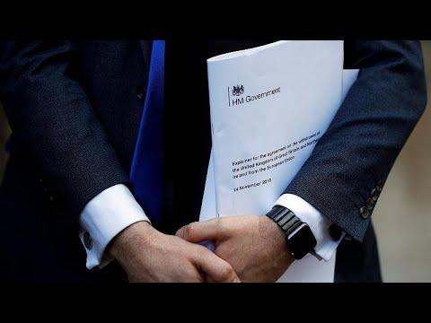Brexit-Vertragsentwurf - die wichtigsten Punkte im De ...