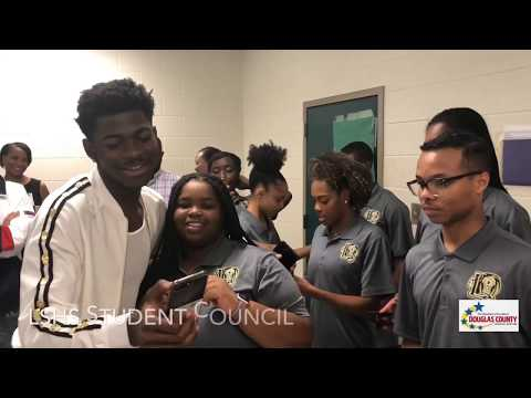 Lil Nas X:: The Homecoming. Behind the Scenes of the Lithia Springs High Surprise Concert