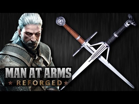 Witcher 3 Silver  Steel Swords MAN AT ARMS