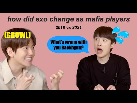 every time exo plays mafia (a real chaos)