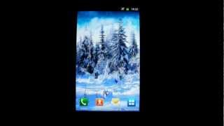 Winter Live Wallpaper HD YouTube video