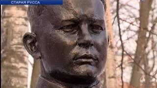 В Парке Победы города Старая Русса состоялось торжественное открытие обновлённой Аллеи Героев