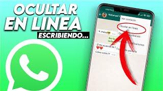 Como Ocultar EN LINEA Y ESCRIBIENDO de WhatsApp SIN ROOT 2018 | ANDROID STUDIO