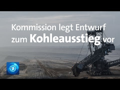 Kohlekommission legt Entwurf für Kohleausstieg vor