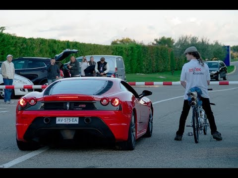 Daredevil Sets World Record Reaching 207mph On a RocketPropelled Bicycle In Just 48