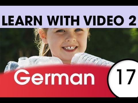 Learn German with Video – German Expressions That Help with the Housework 1