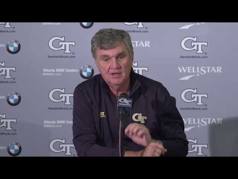 Video: Paul Johnson Press Conference - 11-21-17