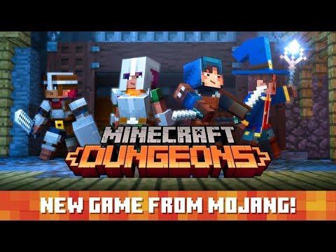 Minecraft: Dungeons – Announce Trailer de Minecraft : Dungeons