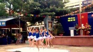 Nhảy Aerobic trường Tiểu học Phùng Ngọc Liêm
