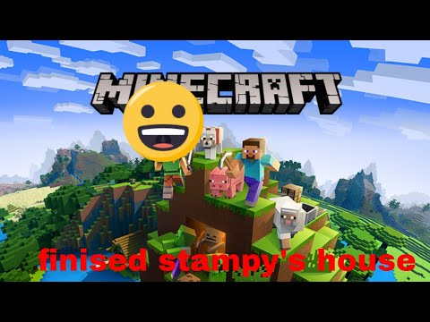 Minecraft: Stampys house finished! (видео)