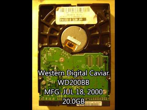 Hard Drive Collection 4-18-13