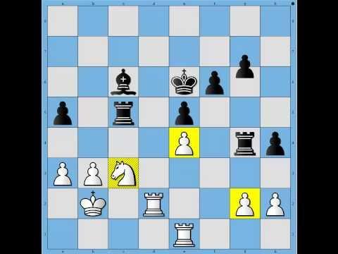 Great Chess Game – Magnus Carlsen winning as Black