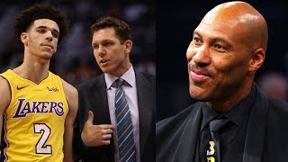 Lonzo Ball's Dad LaVar Trying to STEAL Luke Walton's Coaching Job on the Lakers!? by Obsev Sports