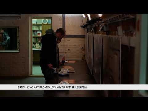 TV Brno 1: 30.1.2017 Kino Art promítalo v krytu pod Špilberkem.