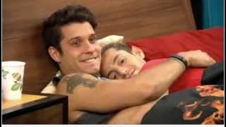 Frankie and Cody Cuddling in the Fire Room - Full - 7/31