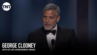 Video George Clooney Accepts the AFI Life Achievement Award | AFI 2018 | TNT MP3, 3GP, MP4, WEBM, AVI, FLV Agustus 2018