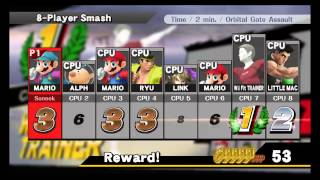 Smash Wii U hacks with more 8 player Smash stages and CSS slots.