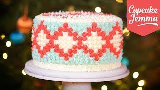 Christmas Jumper Cake How-To | Cupcake Jemma by Cupcake Jemma