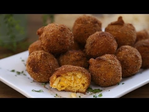 Pasta Recipes – How to Make Fried Mac and Cheese Balls