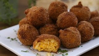 Pasta Recipes - How To Make Fried Mac And Cheese Balls