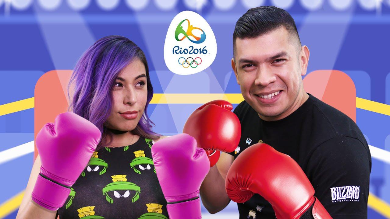 CLOSE OLYMPIC GAMES! Husband vs Wife – Mario & Sonic Rio Olympics 2016