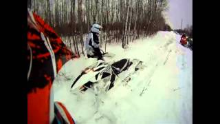 9. Arctic Cat 1100 Turbo stuck