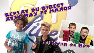 Video Max et Mango live avec Néo et Swan the Voice // Gu'Live en Live MP3, 3GP, MP4, WEBM, AVI, FLV Agustus 2017
