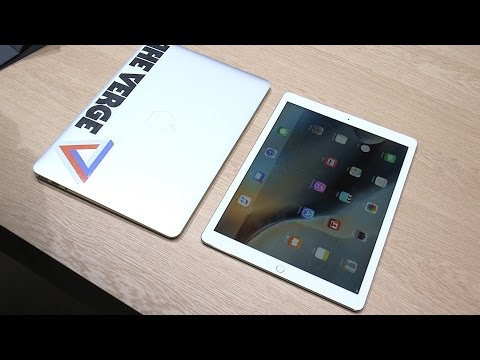 Apple iPad Pro hands on