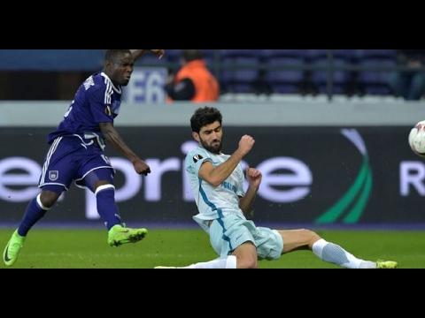Anderlecht vs Zenit   Highlights Europa League 16/02/17 HD