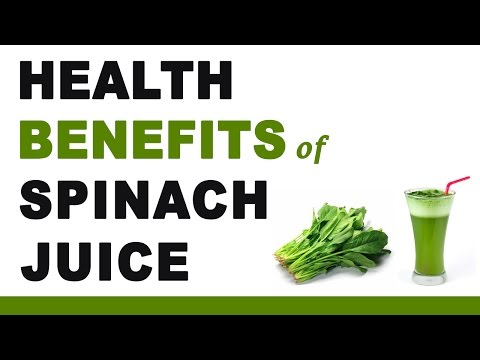 , title : 'Health Benefits of Spinach Juice'