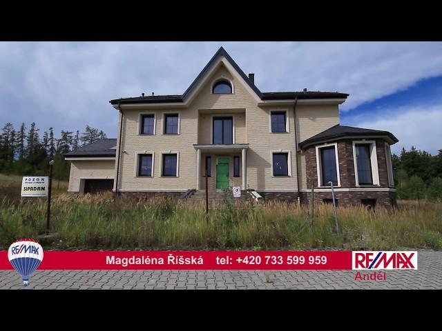 Videoprohlídka rodinného domu v obci Trnová