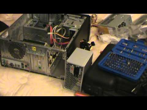 How To Replace HP Pavilion Desktop Power Supply (You Don't have to be a Pro)
